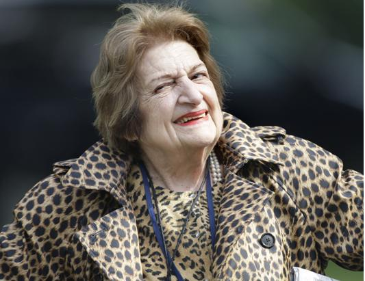 Helen Thomas-Famous People Who Were Fired For Saying Offensive Things