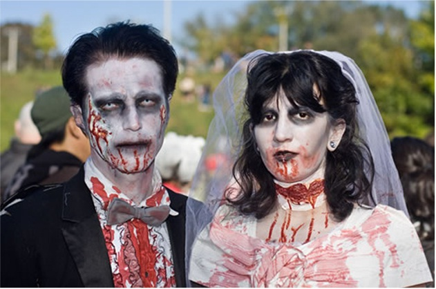 Expensive Weddings-Zombie Engagements