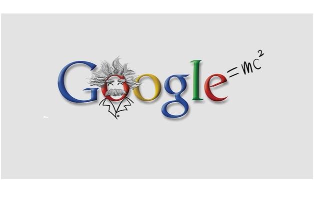 Albert Einstein's Google Birthday-Amazing Google Doodles