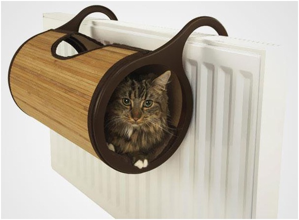 Cat Radiator Bed-Pet Friendly Furniture Ideas