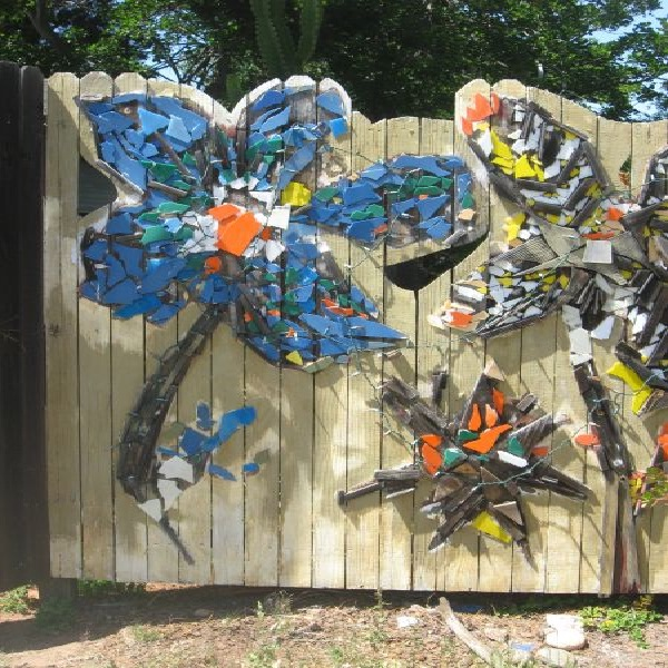 Mosaics-Most Creative Fences