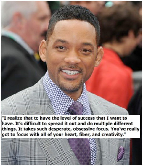 I realize that to have the level-Top 15 Will Smith Quotes