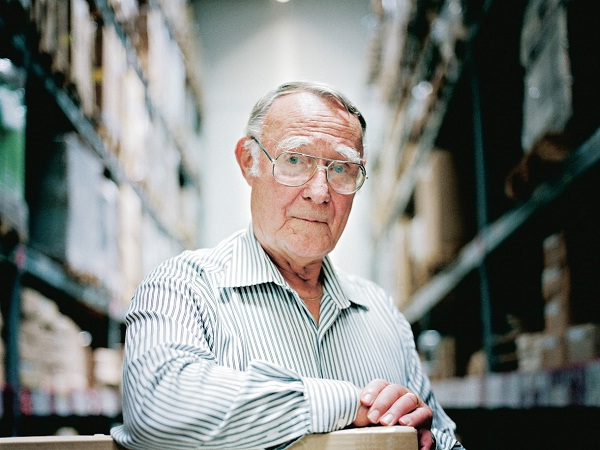 Ingvar Kamprad-People Who Went From Rags To Riches