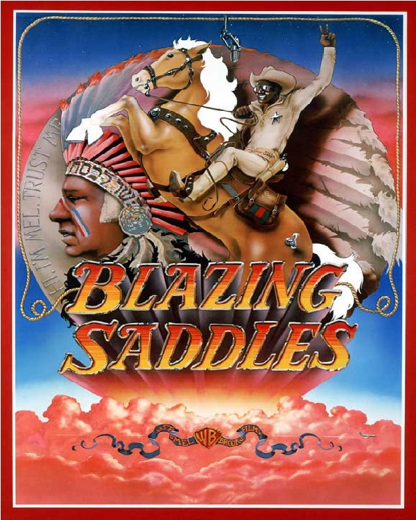 Blazing Saddles-Best Comedy Movies Of All Time