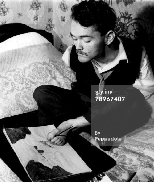 Christy Brown-Amazing People With Physical Disabilities