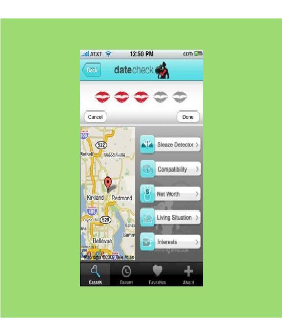 Datecheck-Craziest IPhone Apps
