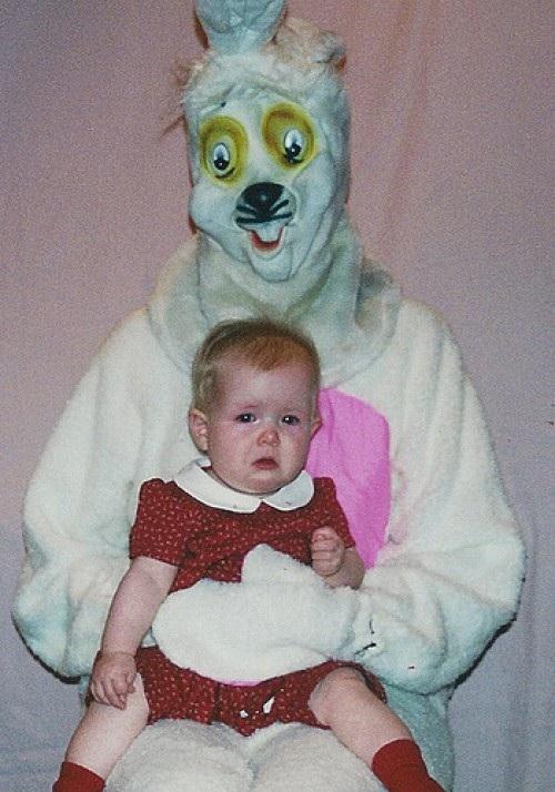 He looks drunk-Not So Cute Easter Bunnies