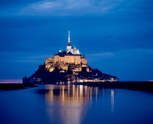 Mont St. Michel - Normandy, France-Most Beautiful Architectural Structures In The World
