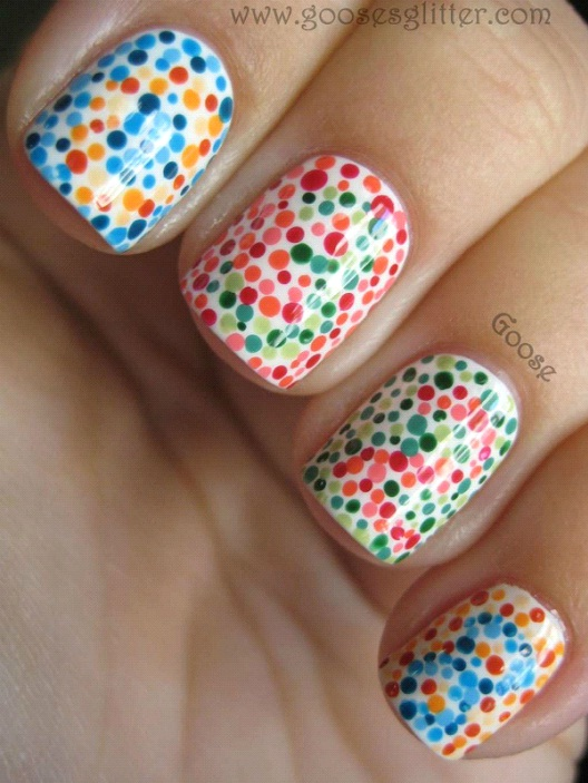 Secret Code Manicure-Best Colorblindness Tests You Must Try