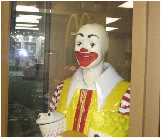 Ronald McDonald After Partying-Sad Reality Of Ronald McDonald