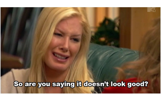 Heidi Montag-Ugly Celeb Cry Faces