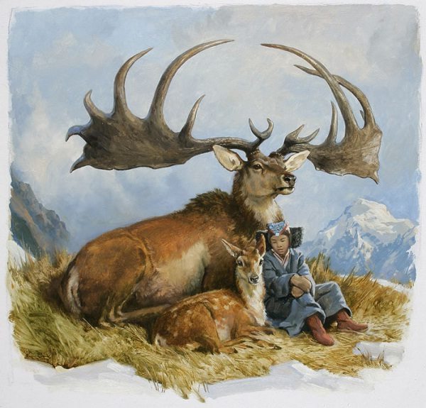 Irish Elk-Extinct Animals That Science Could Bring Back From The Dead