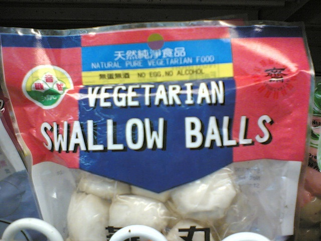 Poor swallow-Most Gross Food Names