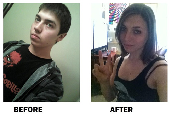 The Natural Look-Male To Female Transformations