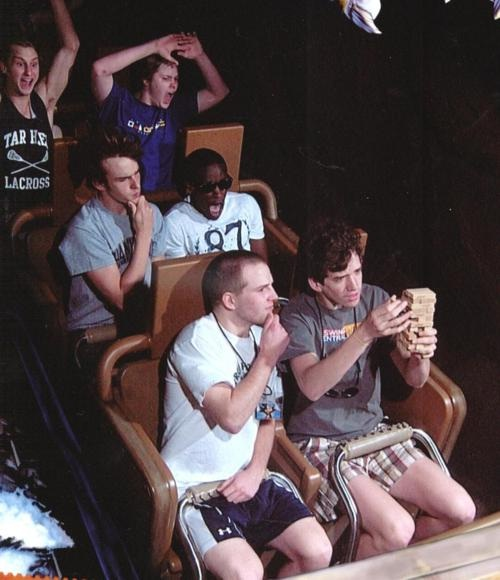 Chilled-Hilarious Roller Coaster Moments
