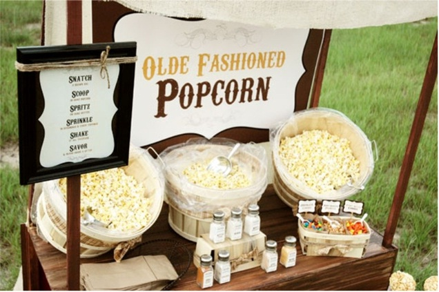 Serve Popcorn-Awesome Wedding Ideas