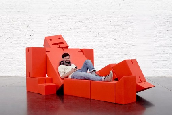 Block man-Most Awesome Couches