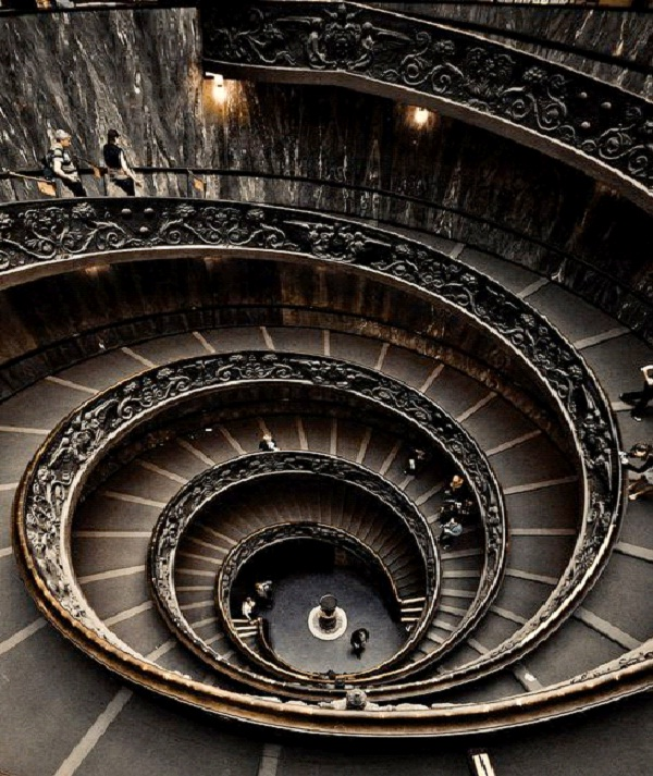 Vatican Museum - Italy-Amazing Staircases In The World