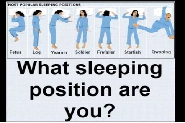 Sleep Positions Determine Personality-Things You Don't Know About Sleep