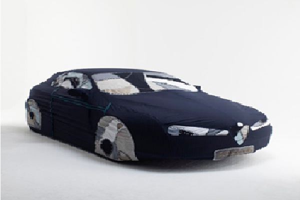 Patched Car Cover-Creative Car Covers