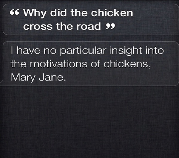 Riddle Me This-12 Funny Conversations You Can Have With Siri