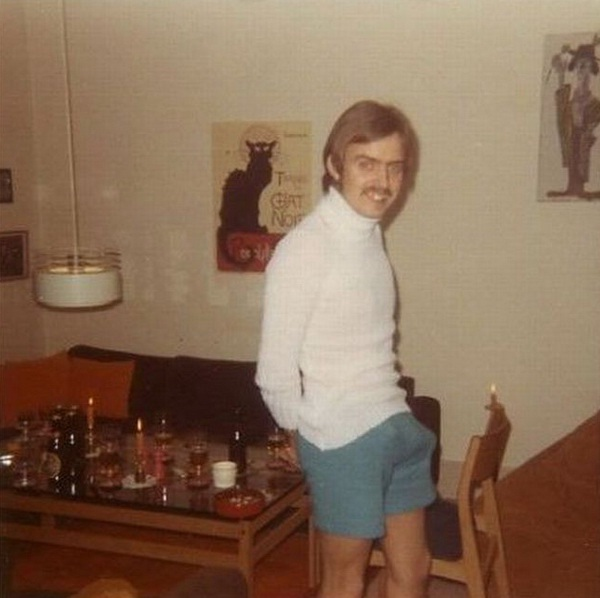 The old photos-Embarrassing Dad Pictures