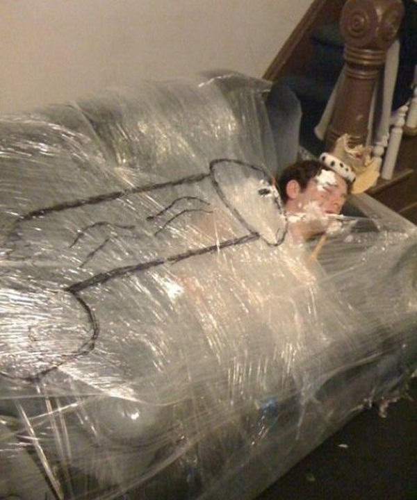 Baby wrapped-Best Pranks Ever