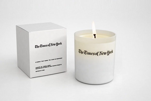 The Times of New York-Most Bizarre Scented Candles