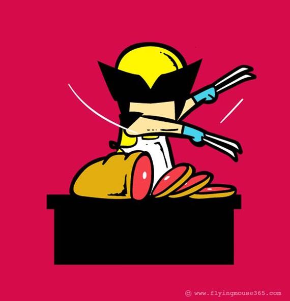 Butcherine-If Superheroes Had Part Time Jobs