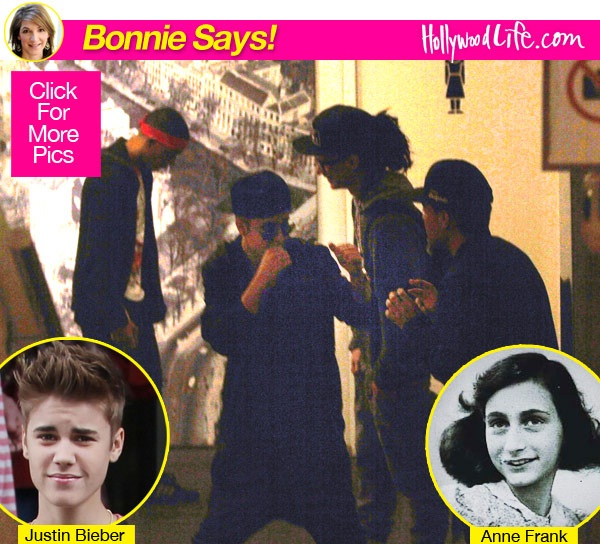 Anne Frank-Reasons Why Justin Bieber Is A Douchebag