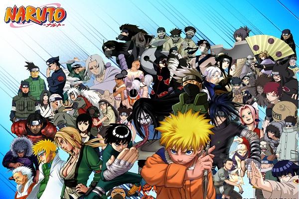 Naruto-Popular Anime Series