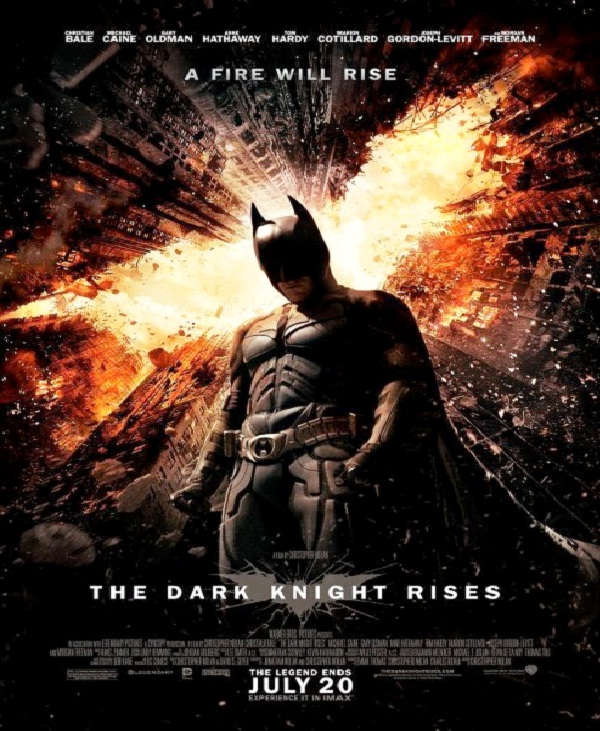 The Dark Knight Rises - $230M-Most Expensive Films Till Now