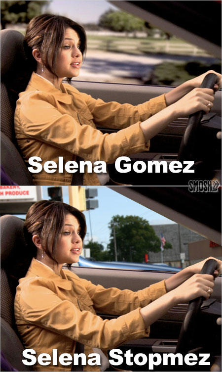 Clever twist on a name-12 Best Selena Gomez Memes Ever
