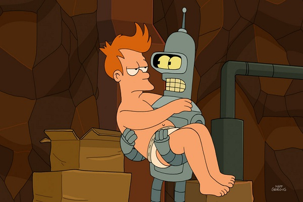 Benders first words-Secret Facts About Futurama You Didn't Know