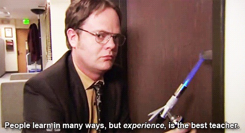 How to be safe with fire-Dwight K Schrute Is A Life Coach
