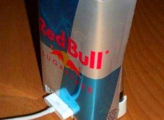Red Bull Interference Shield-Best DIY Phone Accessories