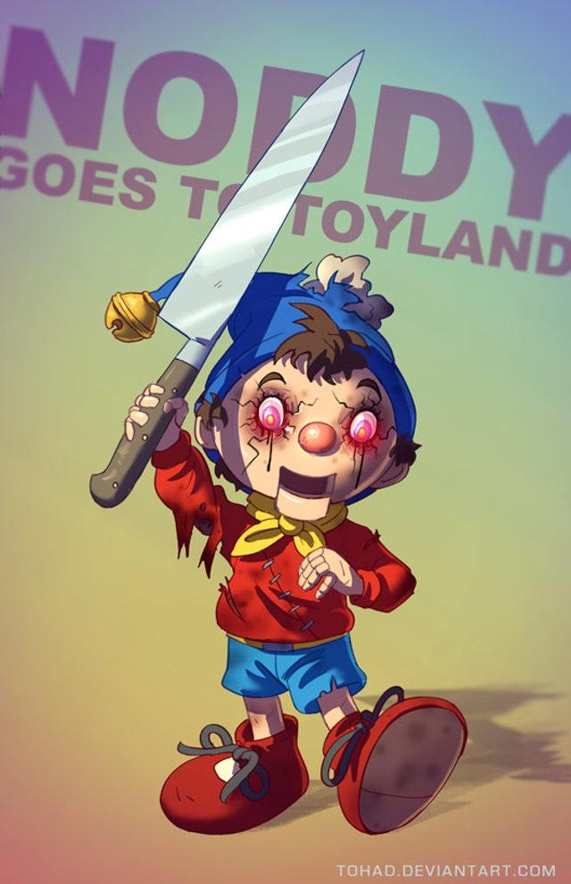 Noddy-Bad Versions Of Popular Cartoon Characters