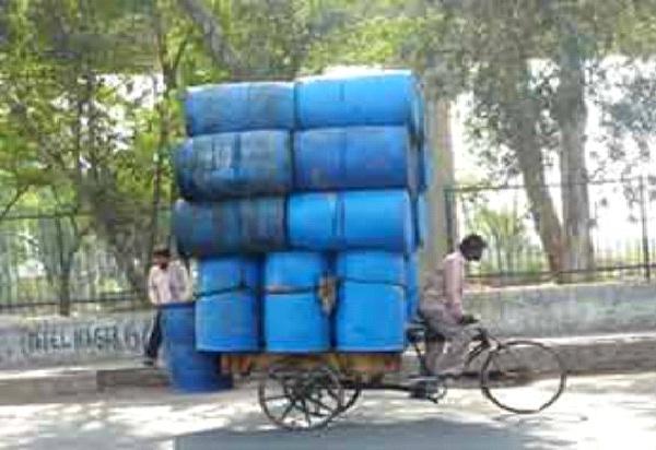 Barrels-Small Vehicles, Big Loads