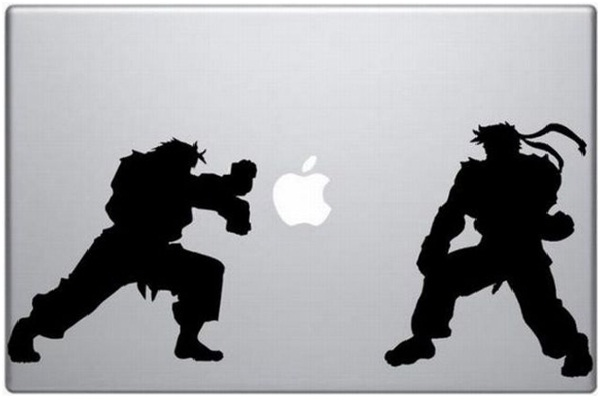 Street Fighter-Funny MacBook Stickers