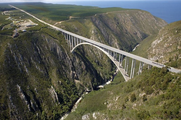 Highest bungee jump-Cool Unknown Facts About South Africa