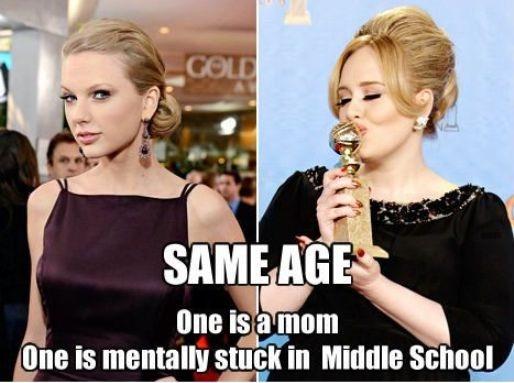 A fair comparison-Best Taylor Swift Memes