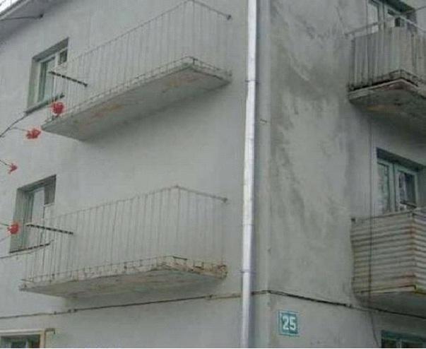 Balcony To Nowhere-Worst Construction Fails