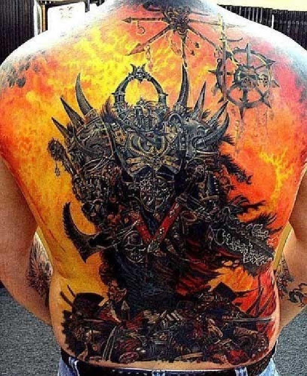 Flames-Full Body Tattoos
