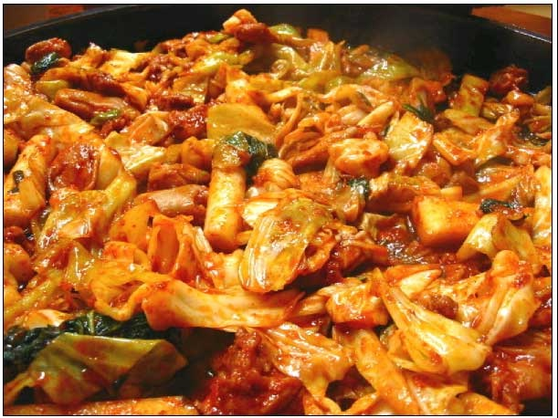 Dalk Galbi-Korean Foods You Should Try