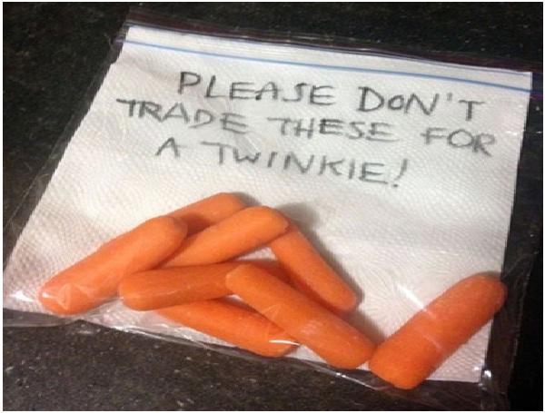 Eat Your Veggies-Absolutely Hilarious Parental Notes