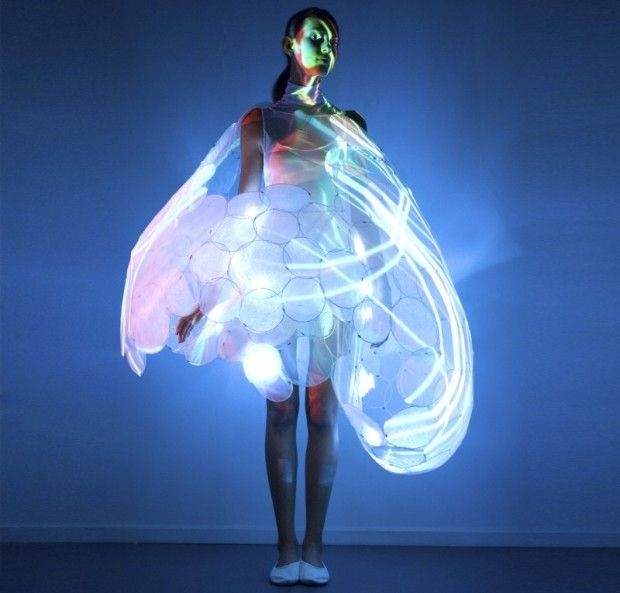 It glows??-Most Insane Dresses Ever