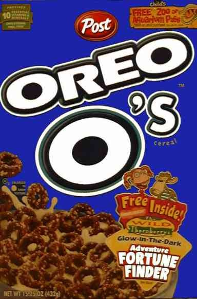 Oreo O Cereals-Foods And Beverages Which Only 90s Kids Will Remember