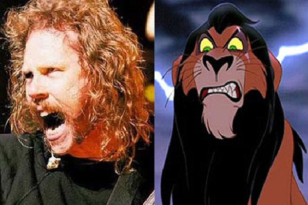 James Hetfield-Disney Look A Like Celebrities