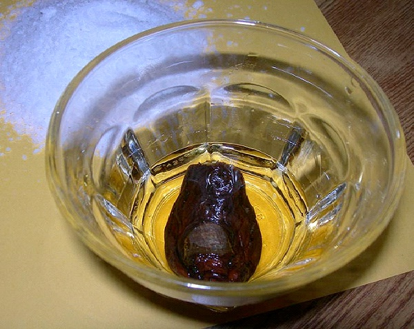 Severed Human Toe Cocktail-Most Gross Foods In The World