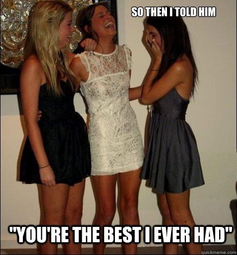 It's not a real compliment-Best Vindictive Girls Meme